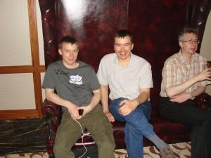 Александр Анохин и Илья Деев